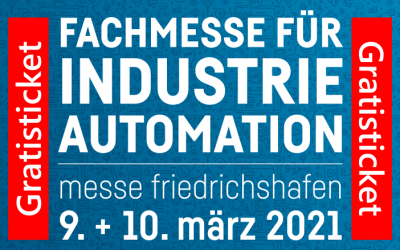 all about automation – Friedrichshafen 2021 – Free Ticket with Invitation Code from wetcon