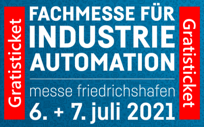 all about automation – Friedrichshafen 2021 – Postponement Incl. Free Ticket