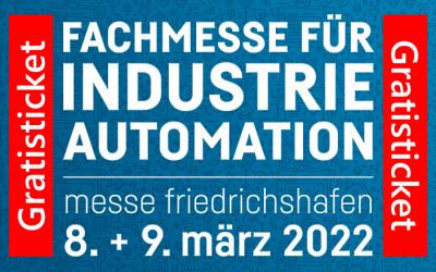 all about automation – Friedrichshafen 2022 – Terminverschiebung inkl. Gratisticket